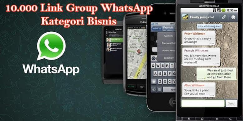10 000 Link Group WhatsApp Kategori Bisnis – SANGGAR BISNIS